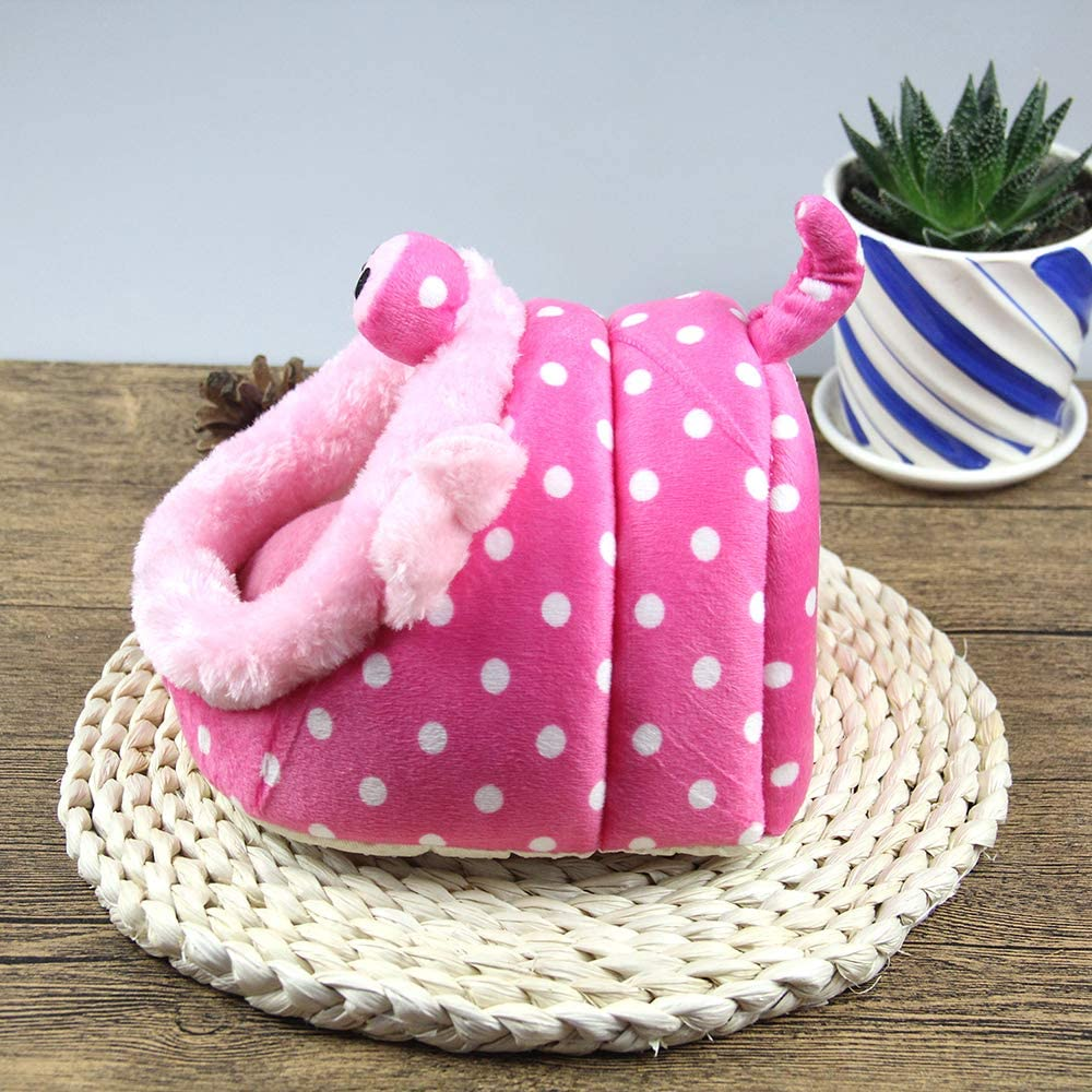 MYIDEA Warm Guinea Pigs Bed,Hedgehog Winter Nest,Rat Chinchillas /& Small pet Animals Bed//Cube//House Habitat Lightweight Cushion Big Mat Durable Portable