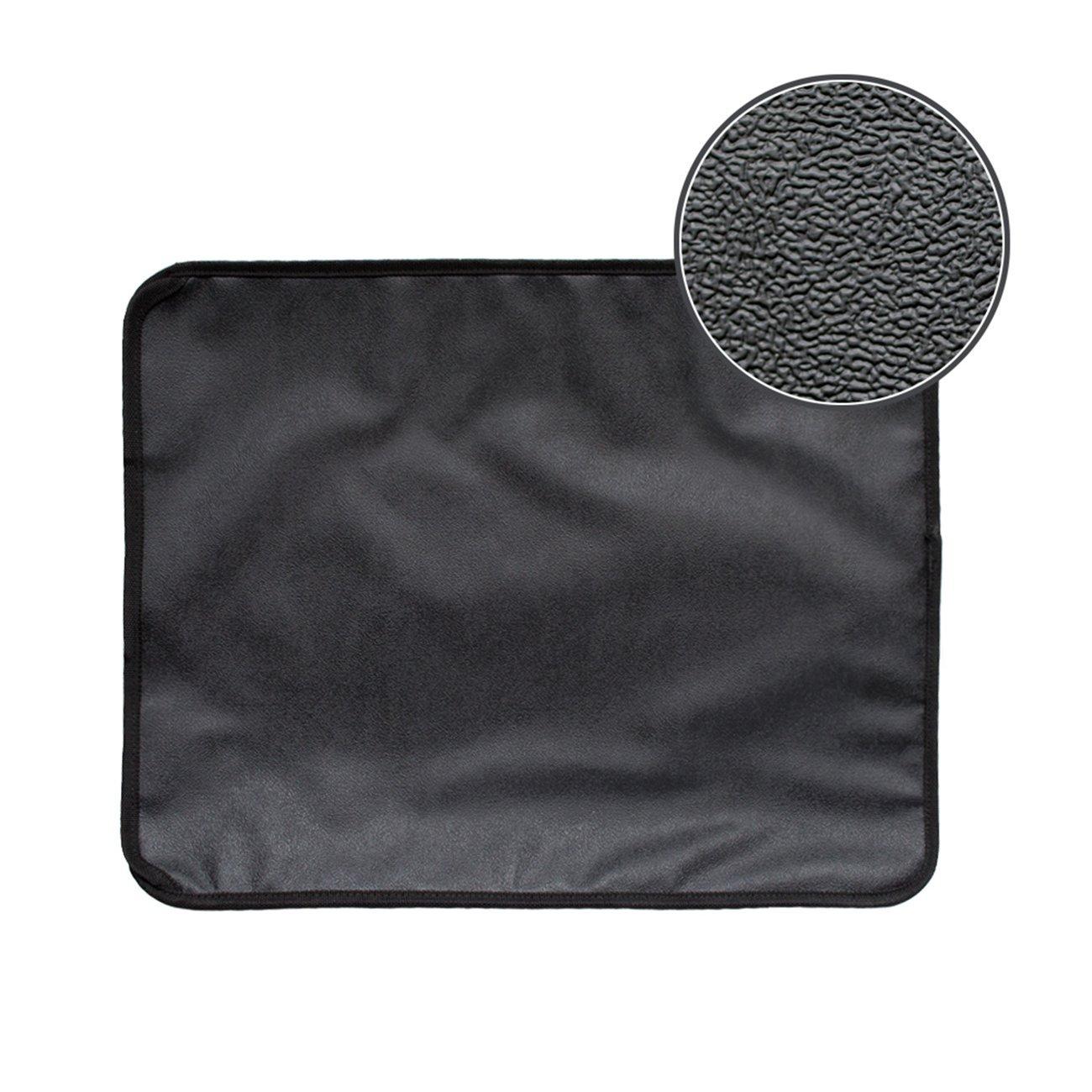 High-elastic EVA Cat Litter Mat Black Double-Layer Cat Litter Trapper Mat With Waterproof Bottom Layer Soft Cat Cushion