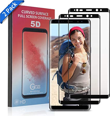 No-Bubble TOBOS Screen Protector Tempered Glass, Scratch-Resistant Anti-Fingerprint Glass Screen Protector
