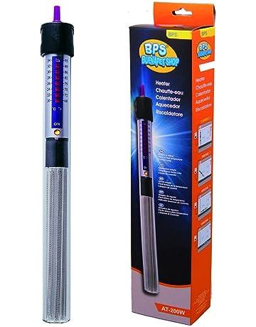 BPS Calentador Sumergible para Pecera 100W - 26.5cm para Acuario Tanque de Pescados Adhesivo BPS