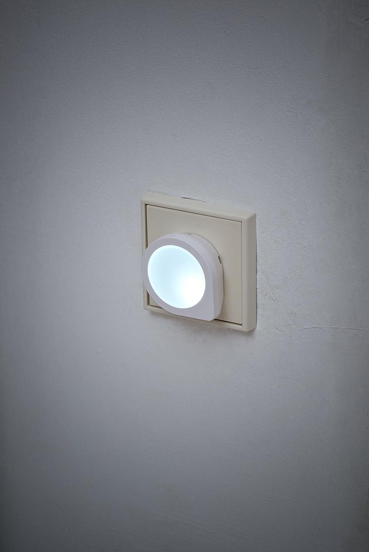 Plastique 3 x 5 cm Blanc Brennenstuhl 1173190 Veilleuse LED 5