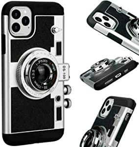 ZHHO Ful Emily Paris Phone Case Vintage Camera for iPhone 11 Pro X Max Xs Xr 2020New