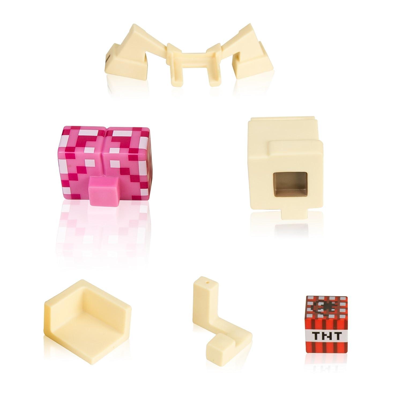 Amazon.com: JINX Minecraft Creeper Anatomy Vinyl Figure Kit: Toys ...