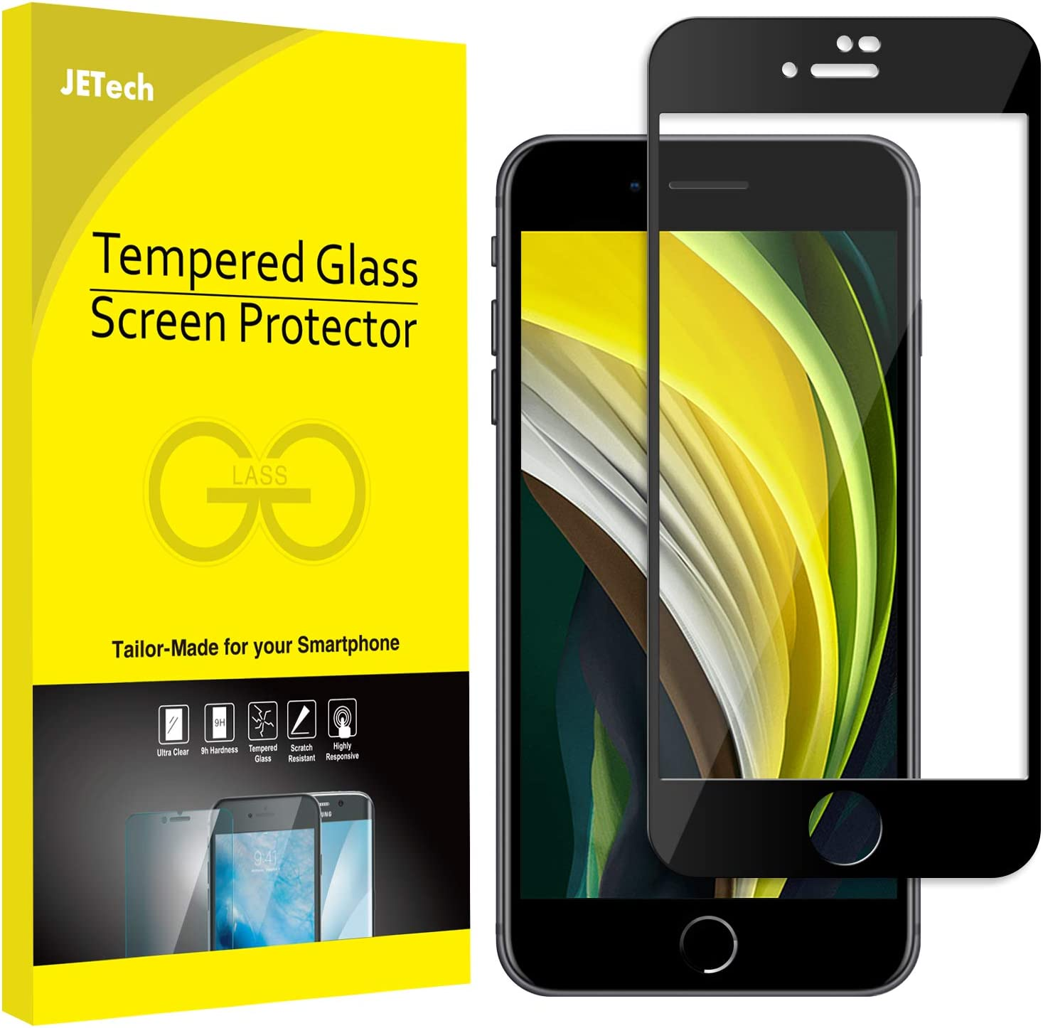 JETech Screen Protector Apple iPhone 8