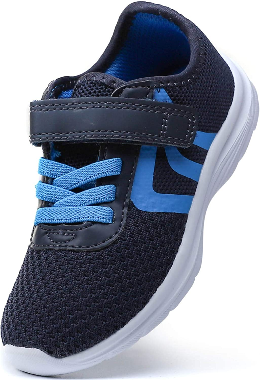 PresaNew Toddler Lightweight Breathable Running Shoes Casual Fashion Sneakers for Little Kid Boys Girls