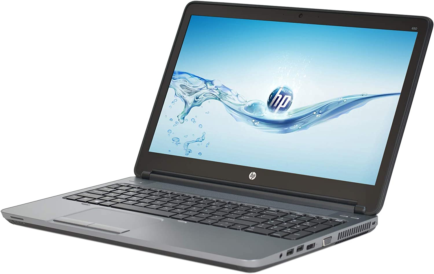 HP ProBook 650 G1 15.6in Laptop, Core i5-4300M 2.6GHz, 8GB Ram, 500GB HDD, DVDRW, Windows 10 Pro 64bit, Webcam (Renewed)