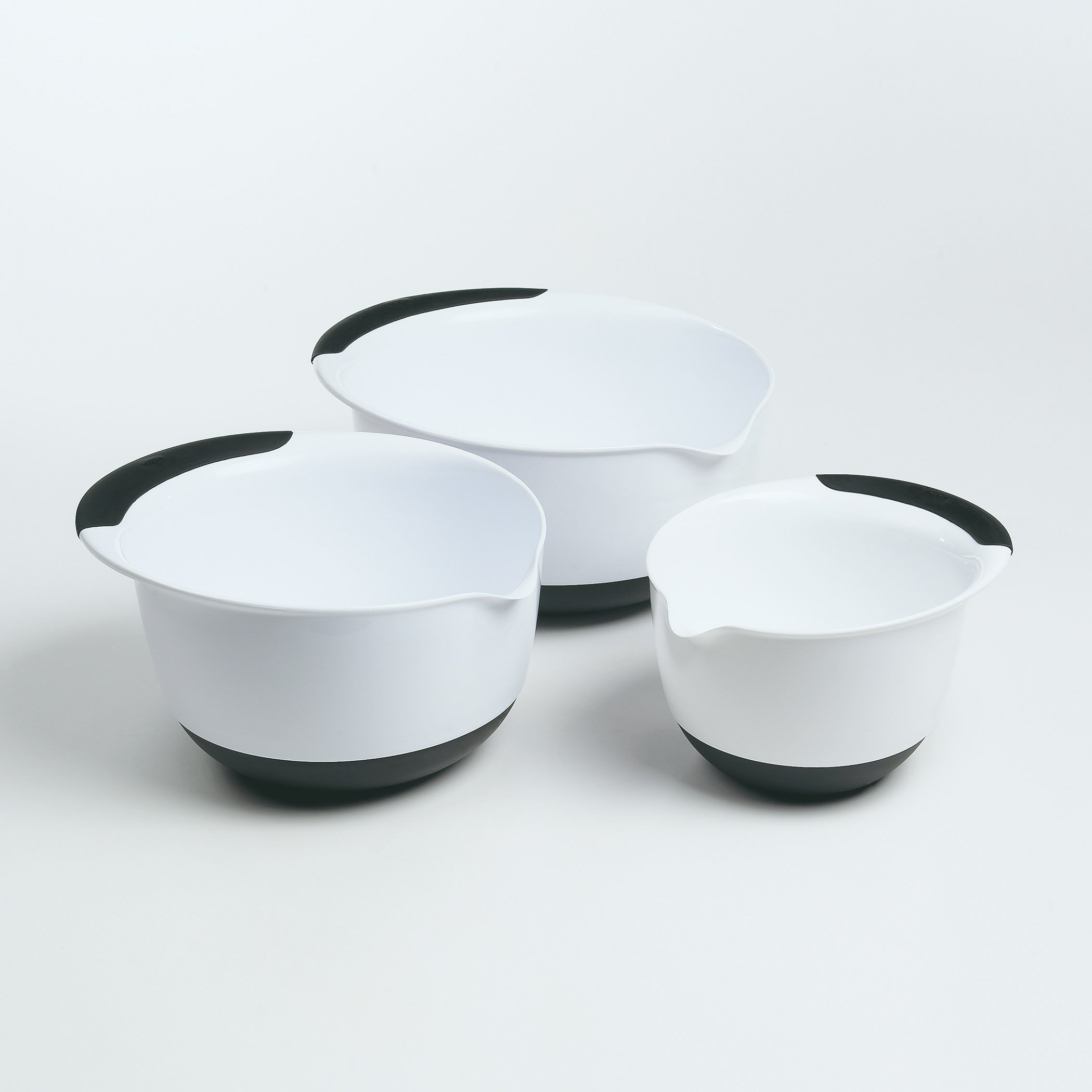 OXO Good Grips Mixing Bowl Set with Black Handles, 3-Piece by OXO (Image #7)