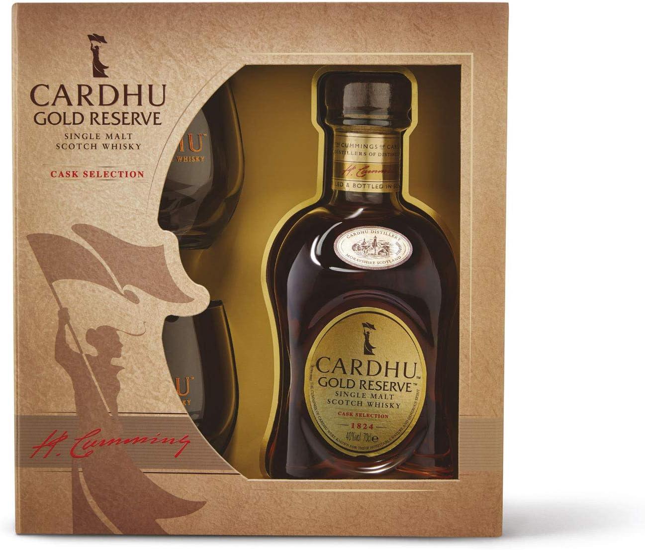 whisky Cardhu estuche con 2 vasos: Amazon.es: Alimentación y bebidas