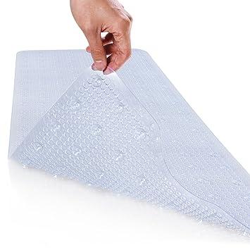 lifewit tapis de baignoire tapis de bain long de scurit anti glissant pour salle de - Tapis Baignoire