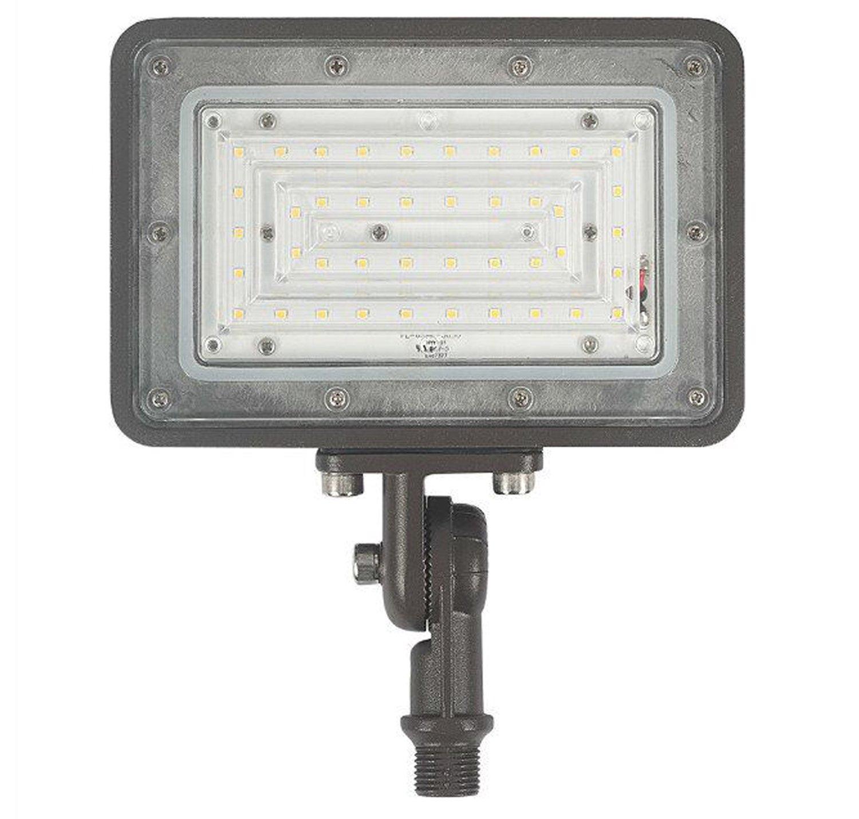1000LED LED Flood Light, 30W LED Flood Flag Light, 3,400 Lm (350W Eq.), AC100-277V Daylight White 5000K, Spot Light