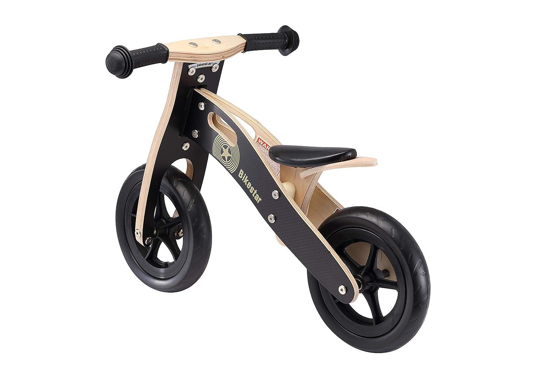 BIKESTAR Bicicletta Senza Pedali in Legno 2-3 Anni per Bambino et Bambina ★ Bici Senza Pedali Bambini 10 Pollici ★