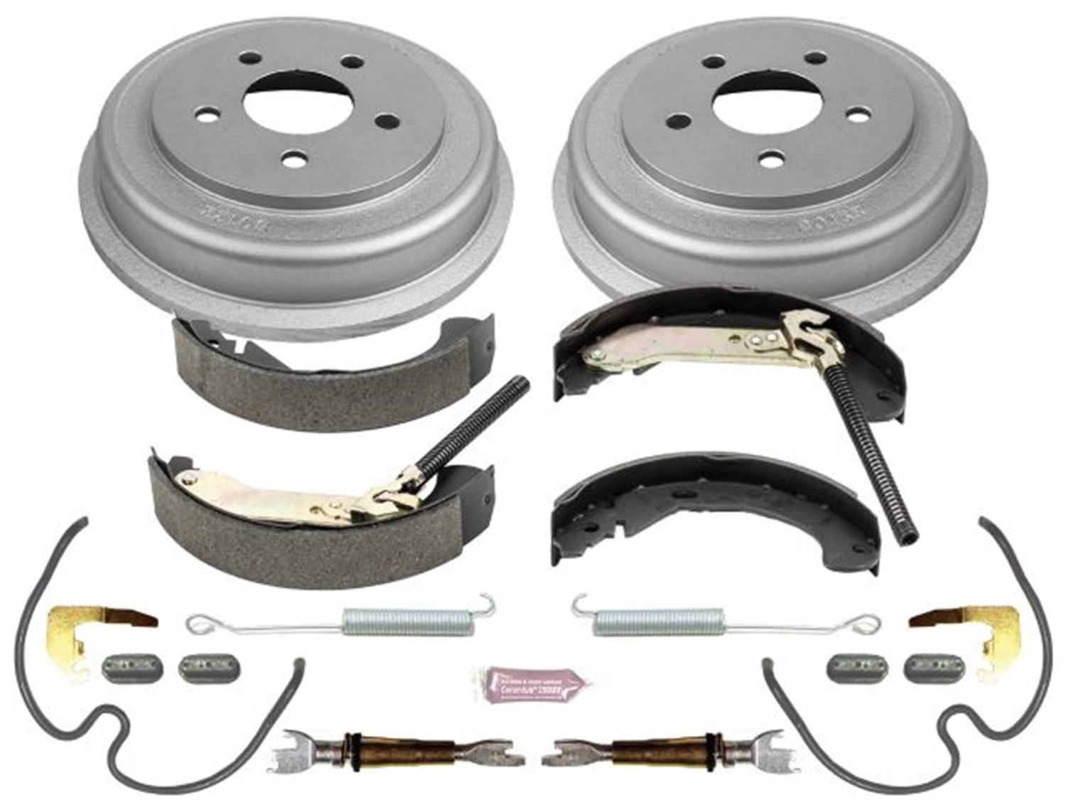 Power Stop Rear KOE15395DK Daily Driver Drum and Shoe Kits