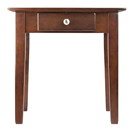 Winsome Wood 94821 Rochester Occasional Table Antique Walnut