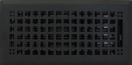 4 X 10 5 75 X 11 5 Overall Flat Black Textured Mission