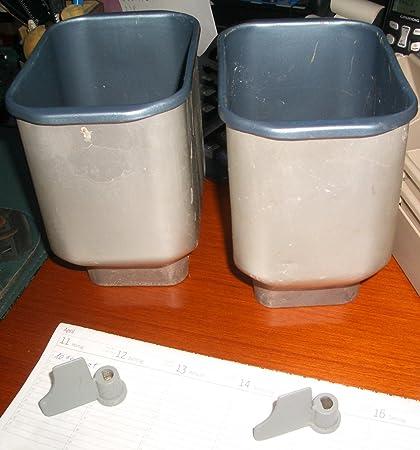 Molde sin gancho para amasar para panificadora/pan máquina, kleine Back cuenco para un