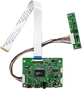 VSDISPLAY HD-MI Mini LCD Controller Board Work for 11.6 13.3 14 15.6 17.3 inch 1920x1080 30 PIN EDP N116HSE N133HSE B140HAN01 B156HAN01 B156HTN03 N156HGE NV156FHM LTN156HL01 N173HCE N173HGE LCD Panel