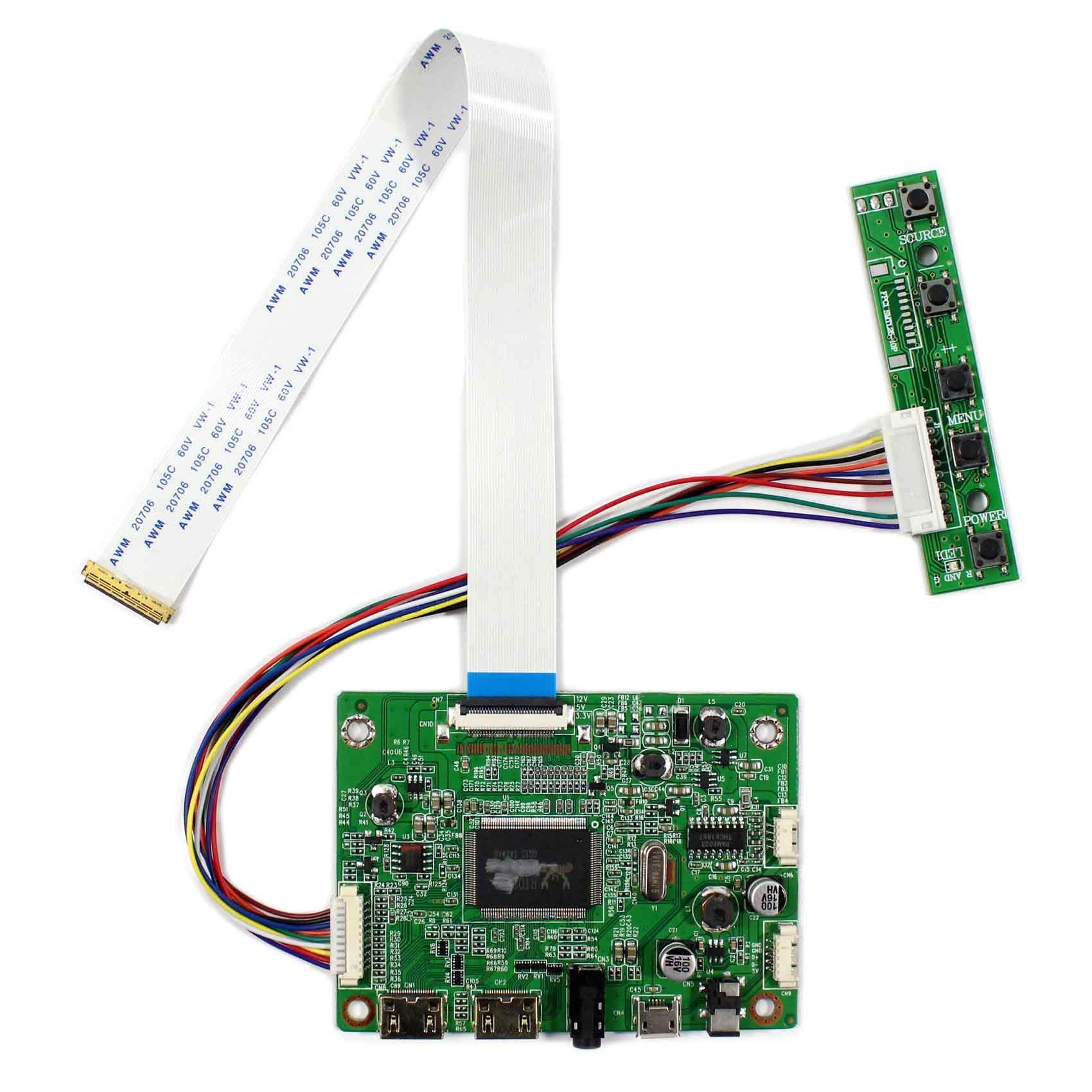 Controladora LCD HDMI  13.3 14 15.6 17.3 1920x1080 N116HSE