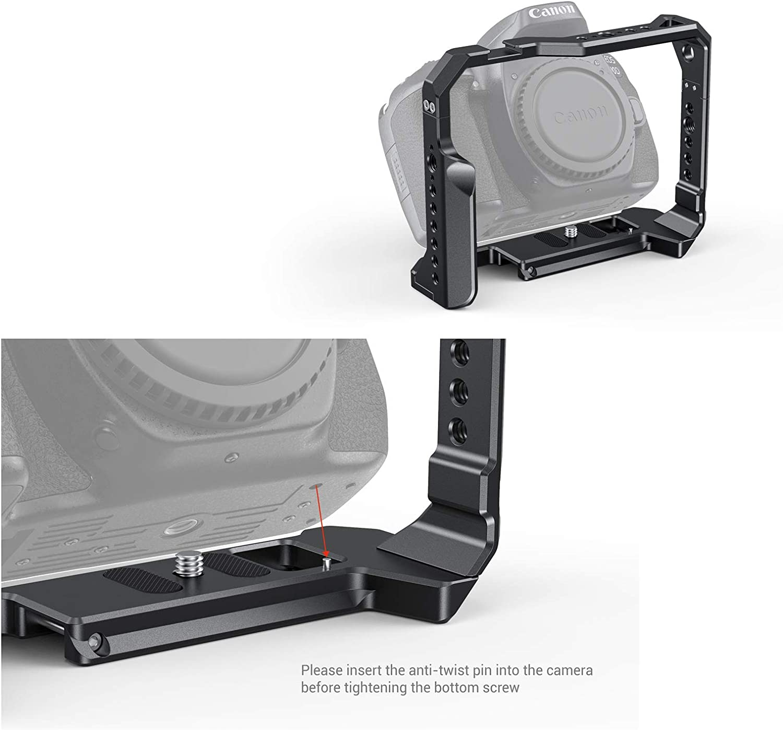 CCC2658 SMALLRIG Kamera K/äfig Cage f/ür Canon EOS 90D 80D 70D