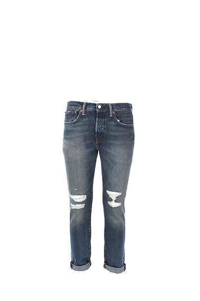 Levis Hombre 501 flacos Bad Boy Jeans, Azul, 31W x 30L