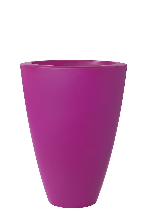 ELHO Blumentopf pure soft, oval hoch 70 cm, rosa