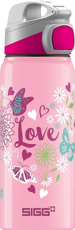 NEU SIGG Trinkflasche Miracle Aluminium 0,6 l rosa Love