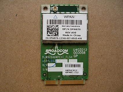 DELL LATITUDE E6500 BROADCOM BLUETOOTH WINDOWS XP DRIVER DOWNLOAD