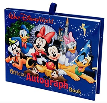 image regarding Printable Disney Autograph Book known as Walt Disney World wide Distinctive Formal Autograph Ebook