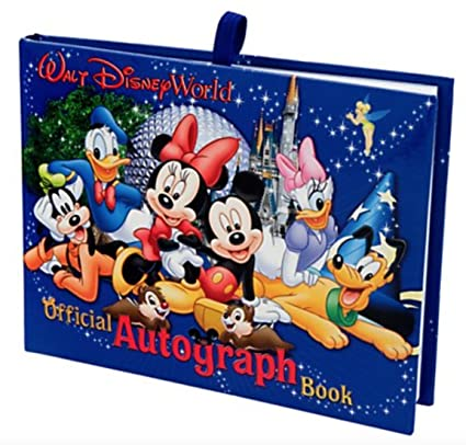 amazon com walt disney world exclusive official autograph book