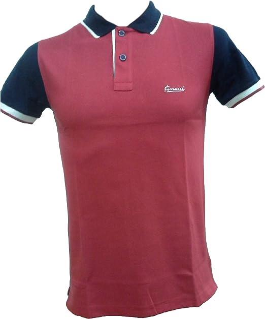 Ferrucci Polo, Camiseta Hombre con Cuello 2 Botones, Sammy. 100% algodón. Italia.: Amazon.es: Ropa y accesorios