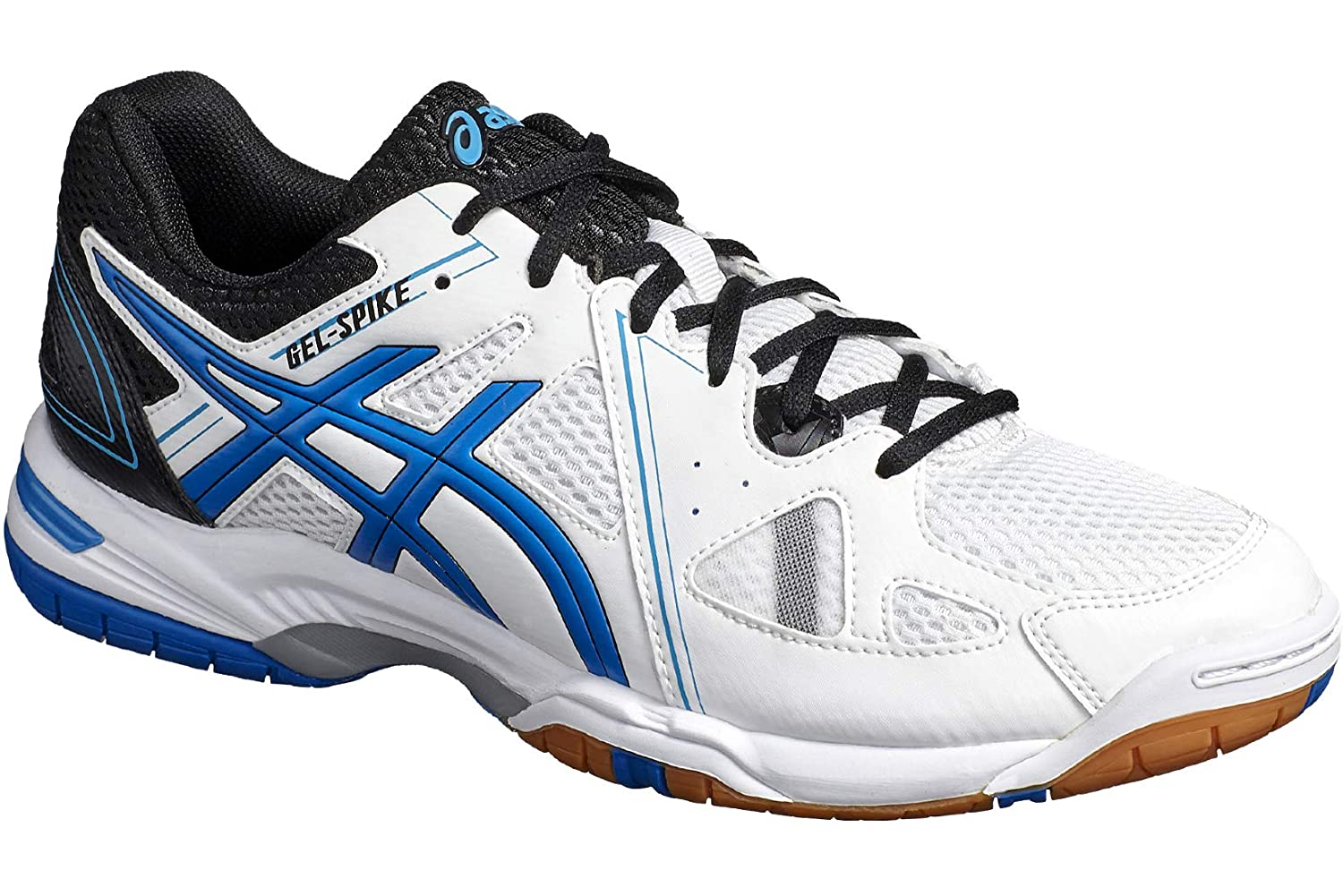 White (White 1051a023-100) ASICS Men's Gel-Spike 3 1051a023-100 Volleyball shoes