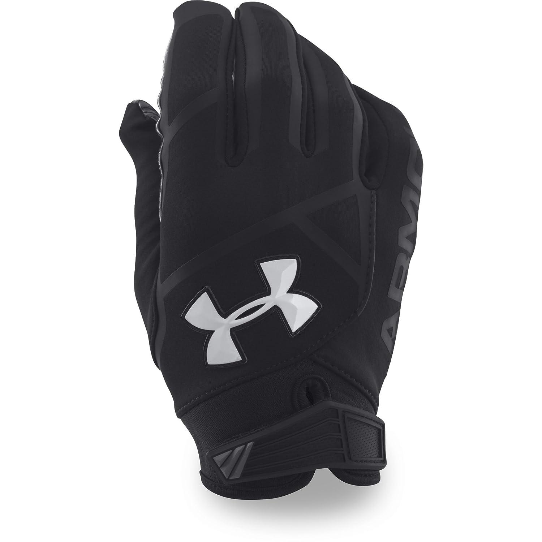 Under ArmourメンズUA Playoff ColdGear II Football Gloves B01N0DDQUA ブラック XL