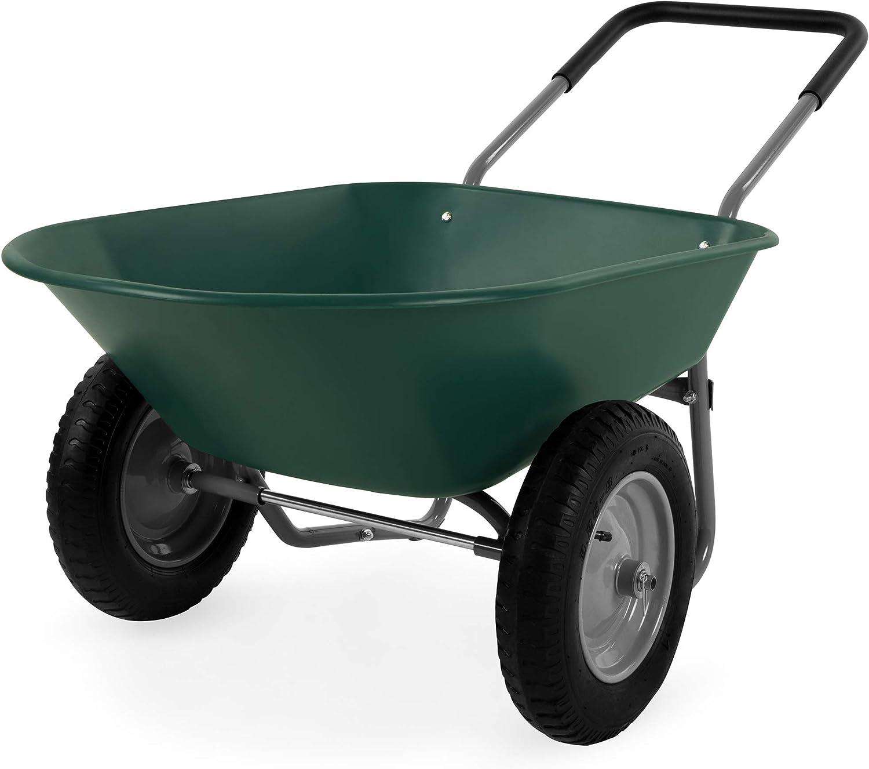 Dual-Wheel garden cart