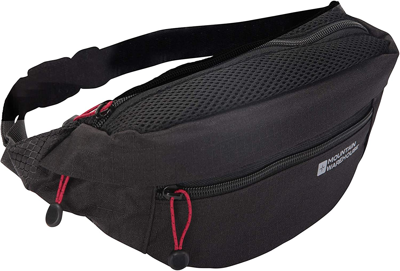 Adjustable Belt Bag Lightweight Fanny Pack Mountain Warehouse Padded Sports Bum Bag