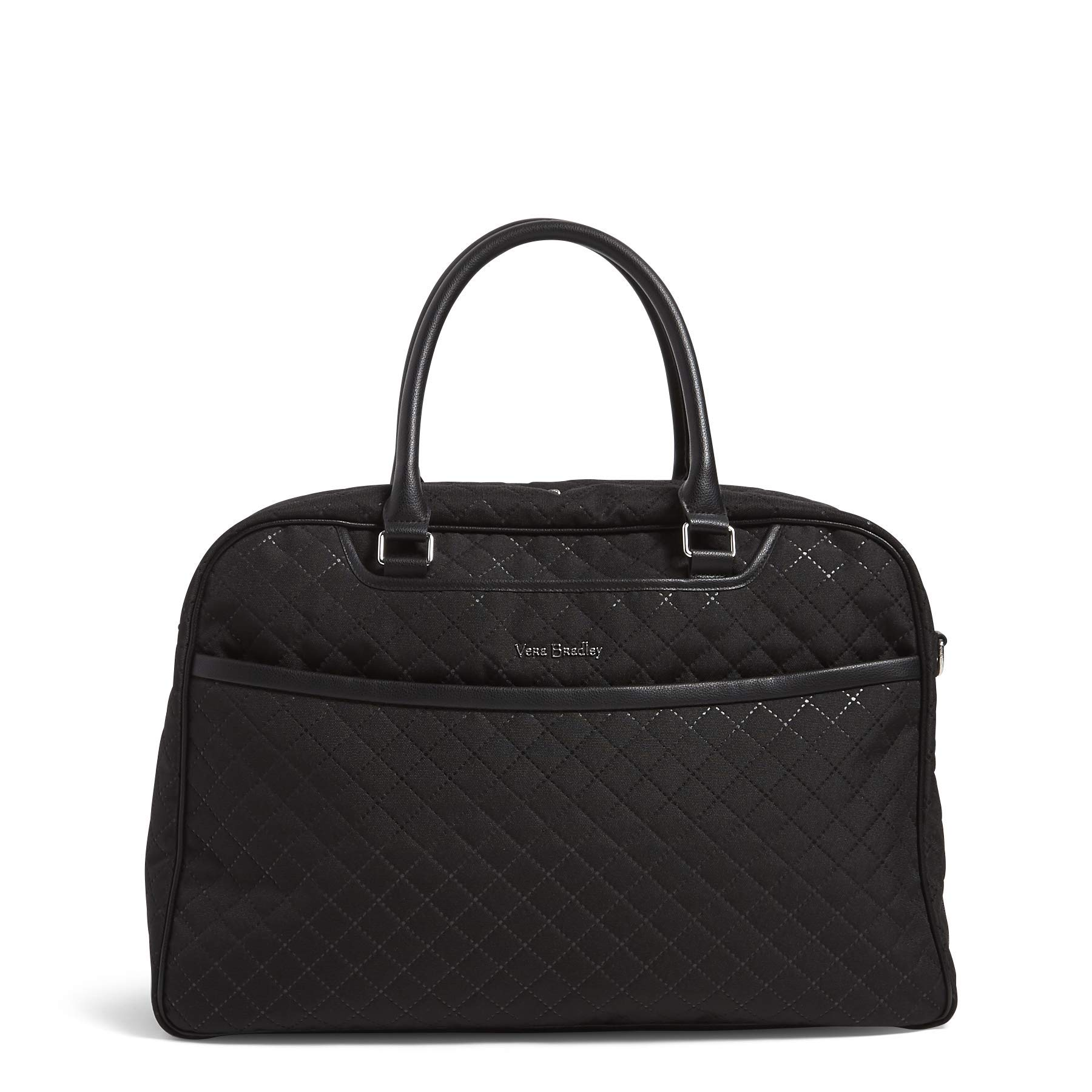 Vera Bradley Iconic Lay Flat Weekender Bag, Black