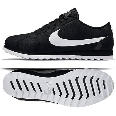 best loved 3516c c3ff8 Nike W Cortez Ultra Moire, Chaussures de Running Mixte Adulte, Noir-Blanc,