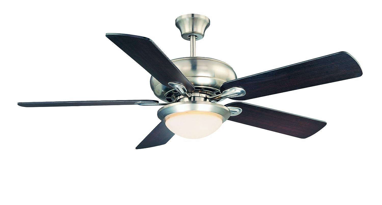 """Savoy House 52-CDC-5RV-SN Ceiling Fan, 52"""""""