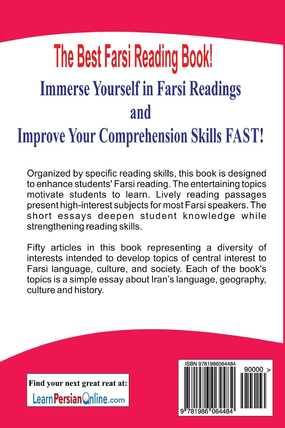 Online Assignment Work Farsi Reading  Improve Your Reading Skill And Discover The Art Culture  And History Of Iran For Intermediate And Advanced Farsi Learners Persian   Thesis For Compare Contrast Essay also Thesis Essay Examples Farsi Reading  Improve Your Reading Skill And Discover The Art  Professional College Writing Services