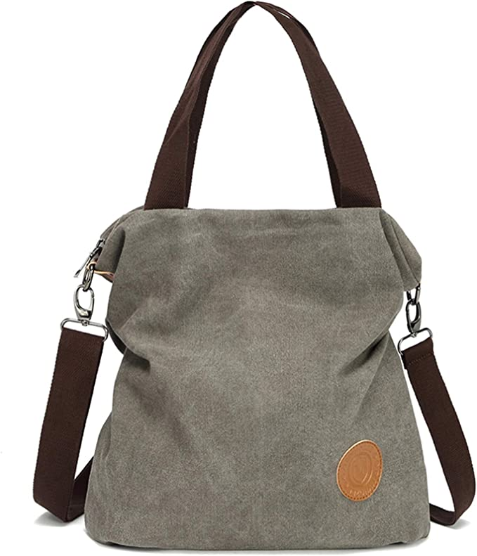 Myhozee Handtasche Damen Canvas Umhängetasche,Taschen Damen
