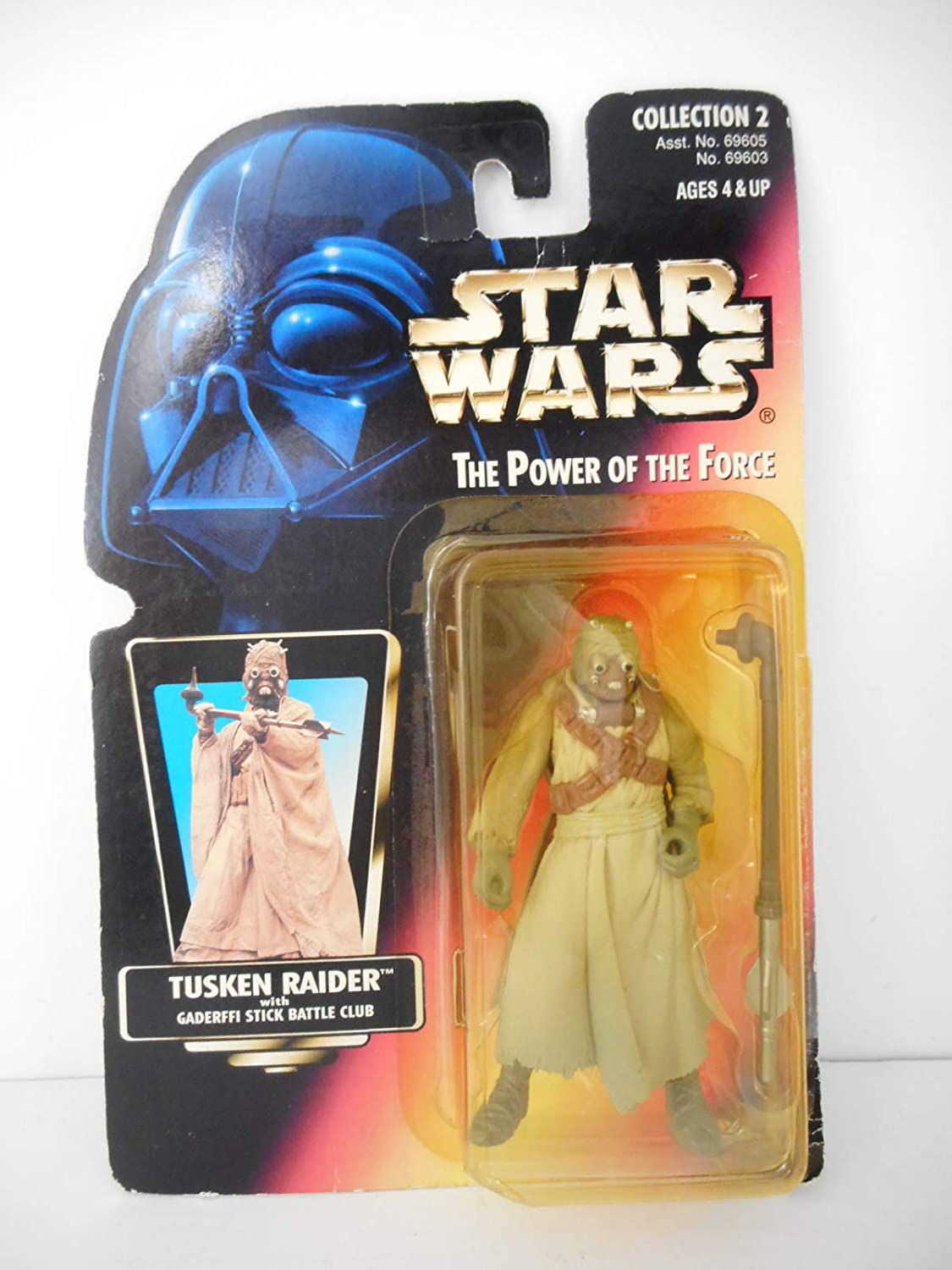 Star Wars: Power of the Force Red Card Tusken Raider Action Figure [Toy]