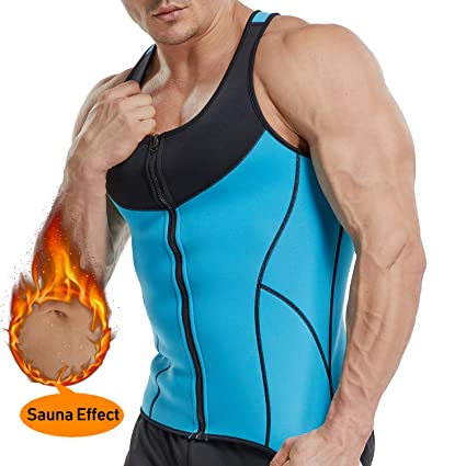 3dc400d03382d Amazon.com   Waist Trainer Vest for Weightloss - Hot Sweat Neoprene ...