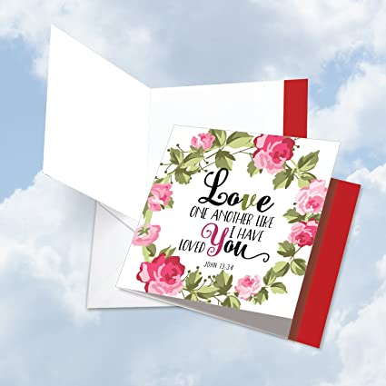 Amazon JQ60DVDG New Jumbo SquareTop Valentine's Day Card Amazing Love Quotes For Valentines Day Cards