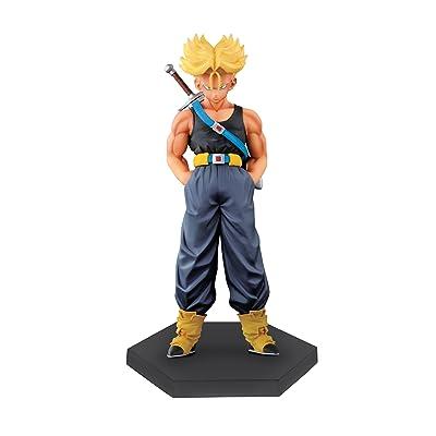"Banpresto Dragon Ball Z 5.9"" Super Saiyan Trunks DXF Figure, Chozousyu Special, Original Color Version: Toys & Games"