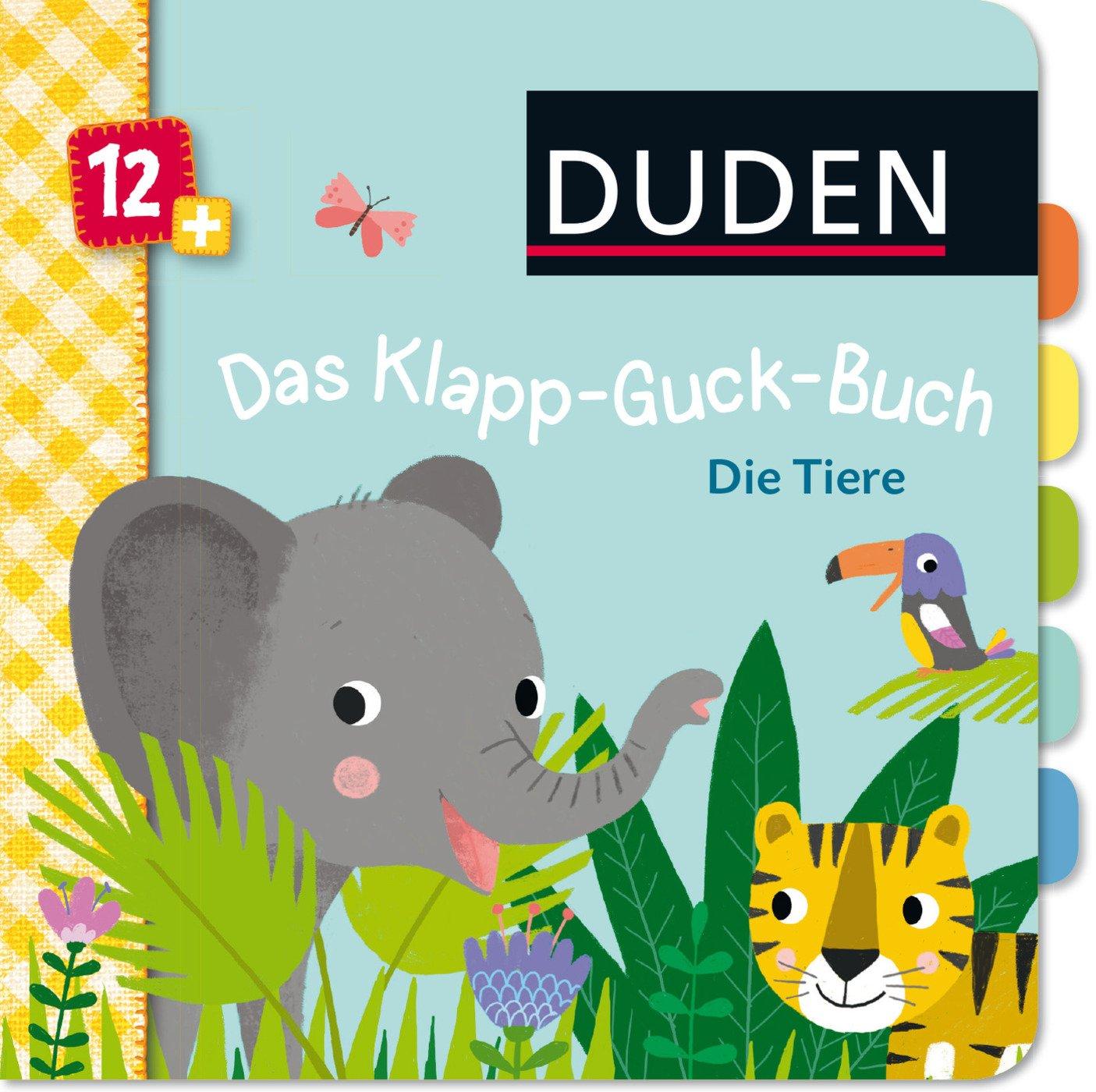 Tür duden  Duden 12+: Das Klapp-Guck-Buch: Die Tiere: ab 12 Monaten: Amazon ...