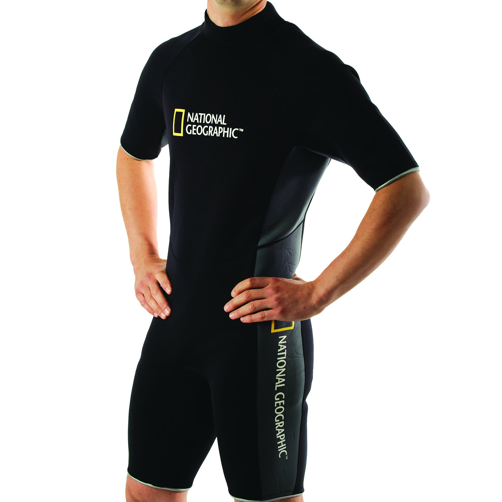 National Geographic Snorkeler Men's Classic Shorty Suit, Large 5919 by National Geographic Snorkeler (Image #1)