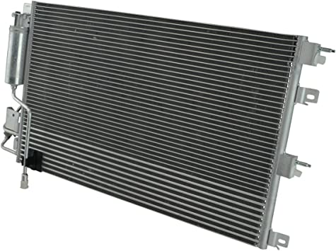 AC Condenser A//C Air Conditioning w// Transmission Cooler /& Receiver Drier New