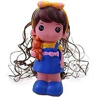 Prime Doll Shape Piggy Bank for Kids Girls for Gift Pack of 1