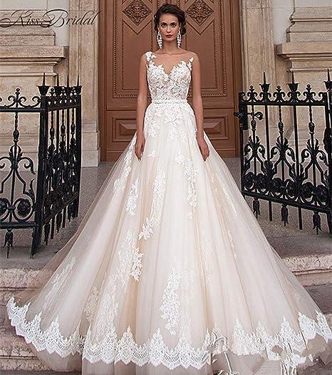 JYL Vestido de Novia Vestido de Novia Vestido de Dama de ...