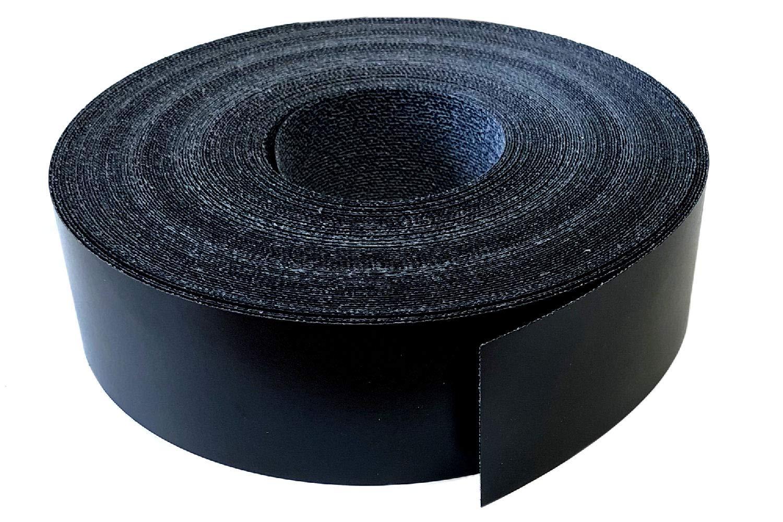 noir lisse mat Bande de placage M/élamine 45 mm x 5 m avec colle thermo-fusible