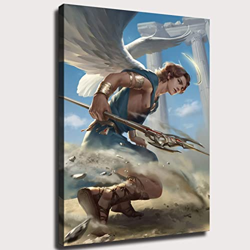 Lzh202077l Sparkling angel art angel warrior male angel Wall Decoration