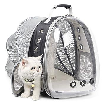 Amazon.com: Mochila transportadora para gatos, bolsa ...
